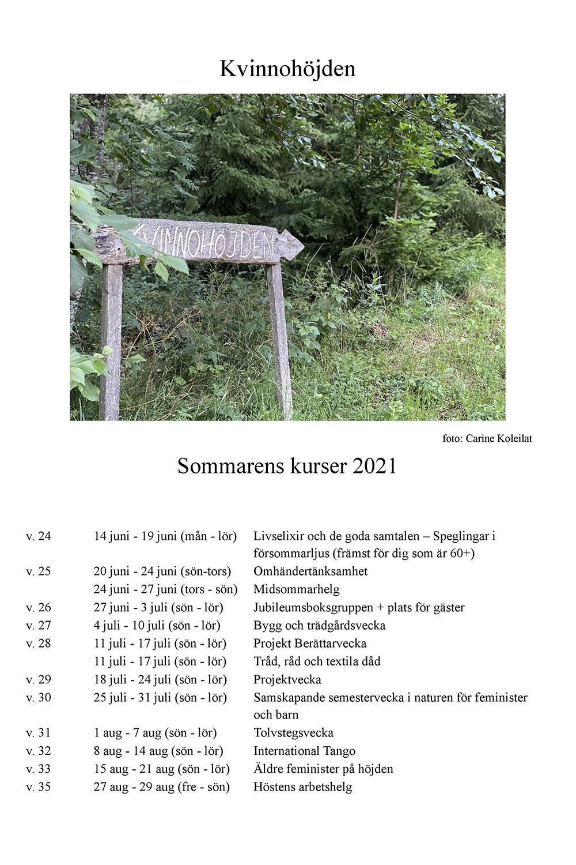 Kursprogram2021